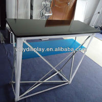 Light retractable promotion table