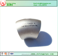 LR 304L 45 degree Stainless Steel Elbow