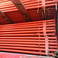 Adjustable props Hot dipped galvanized formwork steel props scaffolding shoring supplier manufacturer in China price ASTM A36