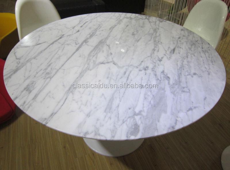 Ovale marmeren blad eettafel, ovale eettafel marmer, ovale marmeren eettafel ct 605 eettafels