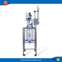 5L/10L/20L chemical laboratory dedicated jacketed glass reactor
