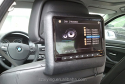 HOT Model 9 inch headrest car dvd player with HDMI MHL