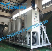 YNZSY-LTY Tire Pyrolysis Oil Refining Equipment With Filling System