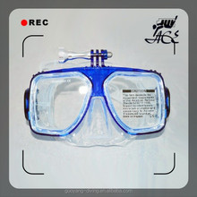 hot sale underwater mask camera swimming glass for deep sea swimming for adults