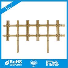 Imitation bamboo plastic fence