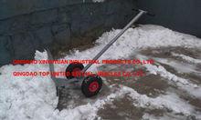 pala de nieve con ruedas