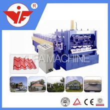 power 5.5KW roofing used gutter downpout pipe cold studs&tracks making machine china