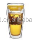 double high borosilicate glass of creative craft of the decorative glass