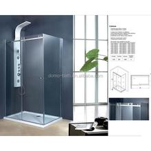 DOMO custom made 6mm framless shower room