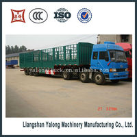 Widely used lower price stake semi trailer truck for sale
