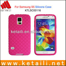 Soft & Cheap Silicone Mobile Phone Cover for Samsung Galaxy S5