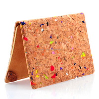 Eco-friendly high quality standing shockproof 7 inch Cork tablet case for kids