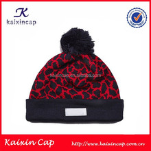 wholesale custom blank knitted children winter hat