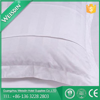 WEISDIN chinese wholesale 100% cotton 3cm strip open pillow cases