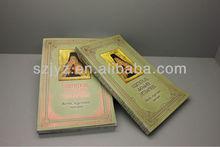 Impresión de la biblia, tapa dura profesional santa biblia book servicio de impresión