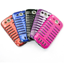 fish stone phone case, pc+tpu cell phone case for samsung galaxy 3