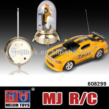1/63th Mini rc car coke can mini rc car 4 channel high speed small car toys rc