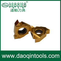 screw thread cutting tools ISO Metric full profile carbide tip, turning inserts, tungsten carbide inserts turning tool