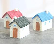Micro Resin Miniature Mini House Villa Garden Decoration Landscape Ornaments