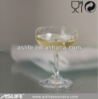 Party Glass Stem Champagne Glasses /crystal non lead coupe champagne glass 140ml/5oz