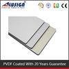 Alusign pure white polished artificial crystallized fasade panel