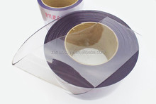 Super clear transparent flexible Soft PVC plastic strip curtain roll,pvc strip curtain