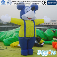 Custom Inflatable Toy Mickey Mouse Character For Sales Promotion