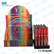 Fashion rainbow color 500 puffs eshisha, 500 puffs ehookah high quality portable hookah shisha electronic hookah shisha