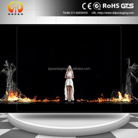3D film for Holographic clear rear projection screen foil