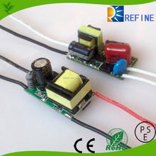 LED bulb driver 5w 7w 9w 12w 15w 18w EMC open frame driver