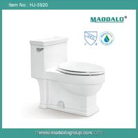 High end quality anqtiue design china ceramic one piece single flush watersaving CUPC watersense toilet