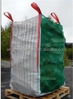 breathable PP Big Bag for Firewood Packing/Potato Ventilated PP Big Bag ,transparent pp jumbo bag