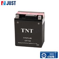 Industry leading 12v 7ah lead acid mf motorcycle battery