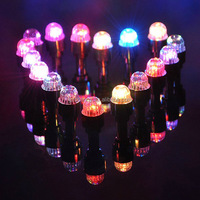Wholesale New Colorful Bike Accessories Light Bicycle Car Wheel Tire Valve Cap Spoke Neon Flash LED Lights Lamp