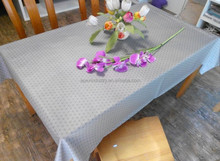 wedding decoration table cloth/hand made table cloth/decorate table