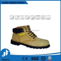 steel toe safety boots / goodyear welt safety shoes with CE certification