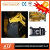 hydraulic couplings for digging bucket