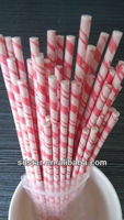 paper sticks with red striped colors, paper candy sticks.paper lolly sticks