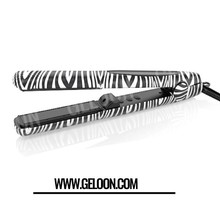Personalized Digital LCD Tourmaline Ceramic Hair Straightener Hair Flat Iron with Ionic generator