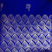 2015 African royal blue gele african jubilee headtie for wedding