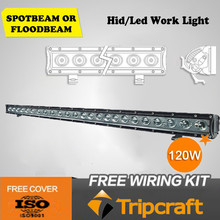 Chinese single row 120w 24pcs*5w long life led light bar with reasonable price