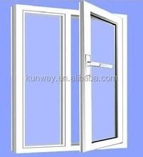Most Popular UPVC/ PVC Window Glass Window with Special Design