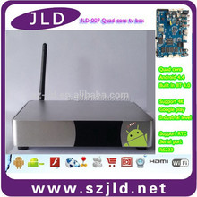 New style IPTV streaming HD support Wifi IPTV 1080P set top box completed Internet OTT android iptv solution