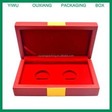 luxury piano lacquer finish gold coin storage box