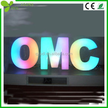 Custom Epoxy Resin Colorful Letter for Outdoor/Indoor