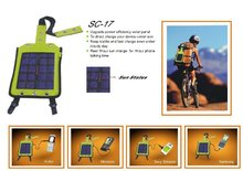 waterproof solar bicycle charger bag