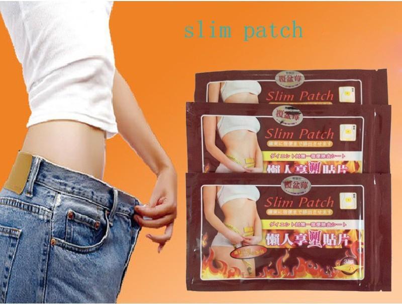 100 pcs gordura jateamento pós vara fina sono preguiçoso magra para perder peso Slimming umbigo vara Slim Patch perda de peso queima de gordura Patch