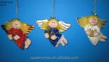 Hign quality christmas angel crafts ornament for christma tree