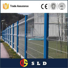 Eco friendly Iron Metal Type and Easily Assembled Feature wire mesh fencing