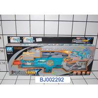 new item army toy gun blue plastic b/o infrared laser gun and target